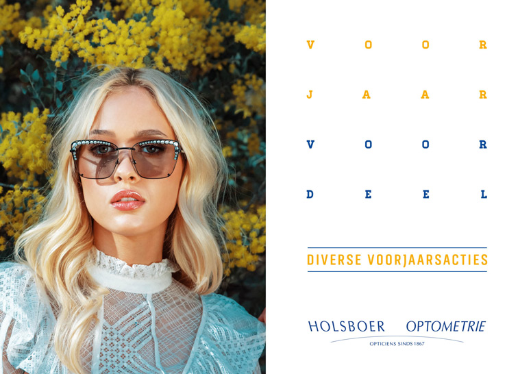 holsboer voorjaarsactie brillen